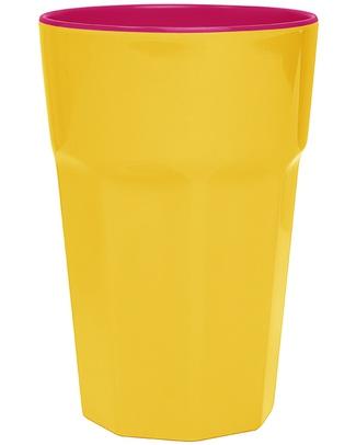 Ginger Melamine Beaker - Yellow & Pink Cups & Beakers