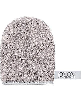 Glov Glov On The Go, Microfiber Make Up Remover Cloth, Grey - No soaps needed! Face