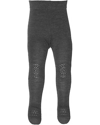 GoBabyGo Non-slip Crawling Tights, Graphite – Cotton Tights