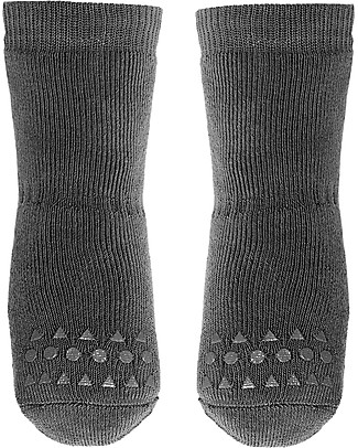 GoBabyGo Non-slip Socks, Dark Grey – Cotton Socks