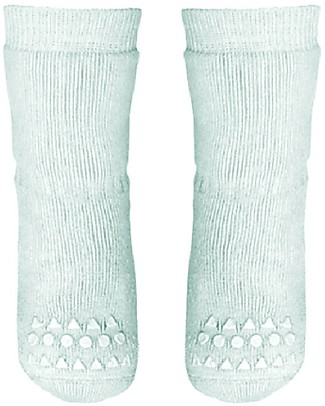 GoBabyGo Non-slip Socks, Mint - Cotton Socks