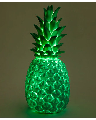 Goodnight Light Pina Colada Lamp - Tropical Green - Low Energy Consumption! Bedside Lamps