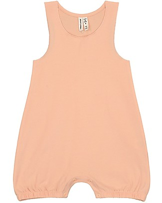 Gray Label Baby Sleeveless Onesie, Pop - Organic cotton Short Rompers