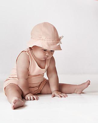 Gray Label Baby Sleeveless Onesie, Pop - Organic cotton Short Rompers