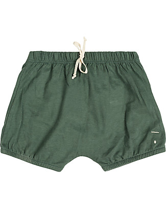 Gray Label Baby Summer Bloomer, Sage - 100% organic cotton bloomer Shorts