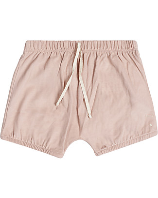 Gray Label Baby Summer Bloomer, Vintage Pink - 100% organic cotton bloomer Shorts