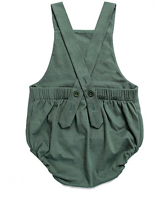 Gray Label Baby Summer Onepiece, Sage - 100% organic cotton jersey Dungarees