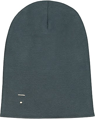 Gray Label Beanie, Blue Grey - 100% organic cotton rib Hats