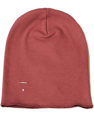 Gray Label Beanie, Blush - 100% super soft organic cotton Hats