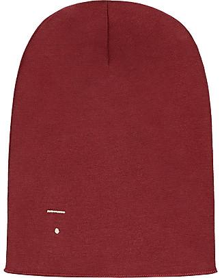 Gray Label Beanie, Burgundy - 100% super soft organic cotton Hats