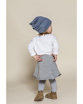 Gray Label Beanie, Denim - 100% super soft organic cotton Hats