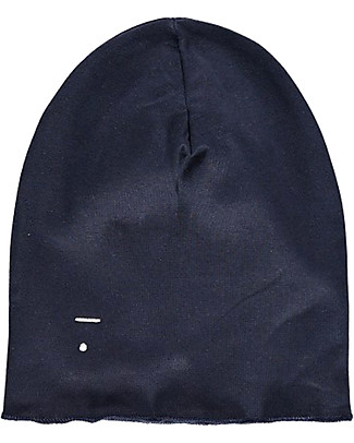 Gray Label Beanie, Night Blue - 100% super soft organic cotton Hats