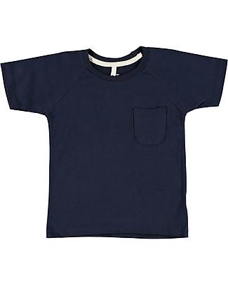 Gray Label Classic Crewneck Tee, Dark Blue - 100% organic cotton jersey T-Shirts And Vests