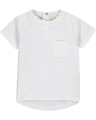 Gray Label Classic Crewneck Tee, White - 100% organic cotton T-Shirts And Vests