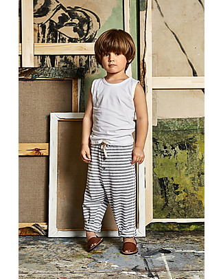 Gray Label Classic Tank Top, White (2+ years) - 100% organic cotton T-Shirts And Vests