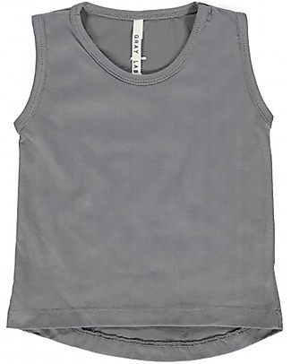 Gray Label Classic Tanktop, Dark Grey - Dark Grey - 100% organic cotton jersey T-Shirts And Vests