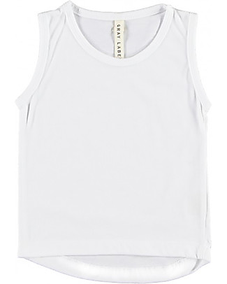 Gray Label Classic Tanktop, Dark Grey - White - 100% organic cotton jersey T-Shirts And Vests