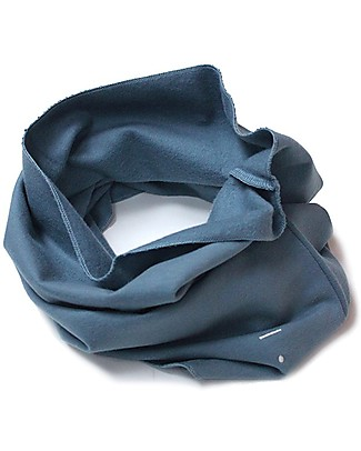 Gray Label Endless Scarf Organic Cotton, Denim - One Size, 2-8 years Scarves And Shawls