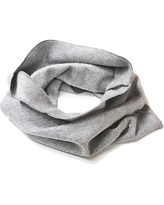 Gray Label Endless Scarf Organic Cotton, Gray Melange - One Size, 2-8 years Scarves And Shawls
