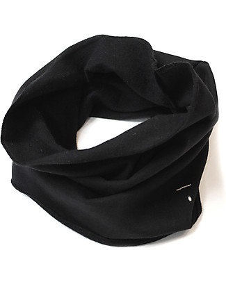 Gray Label Endless Scarf Organic Cotton, Nearly Black - One Size, 2-8 years Scarves And Shawls