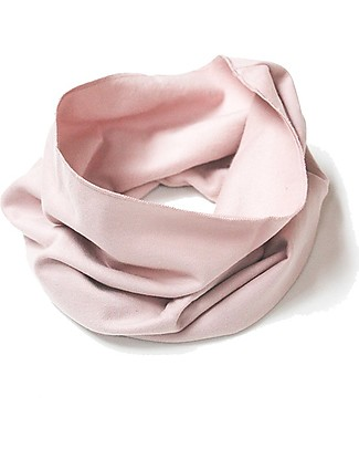 Gray Label Endless Scarf, Vintage Pink - 100% organic cotton Italian fleece Scarves And Shawls
