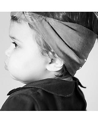 Gray Label Girl Mini Twist Headband, Pop (1-4 years) - 100% organic cotton Hair Accessories