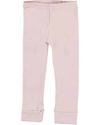 Gray Label Legging, Vintage Pink - Softest Organic Cotton Fleece Leggings