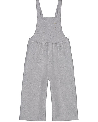 Gray Label Pleated Suit, Grey Melange - 100% organic cotton Dungarees
