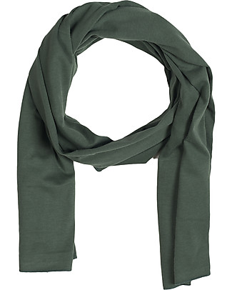 Gray Label Raw Edge Scarf, Ultra Soft Organic Cotton, Sage - One size Scarves And Shawls