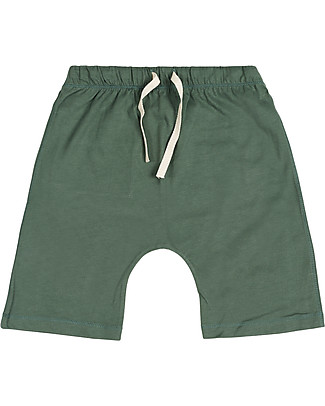 Gray Label Shorts, Sage - 100% organi cotton jersey Shorts
