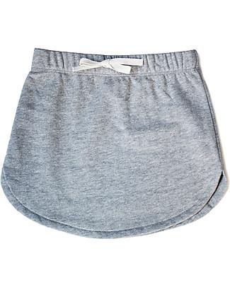 Gray Label Skirt, Grey Melange – 100% organic cotton Italian fleece Skirts