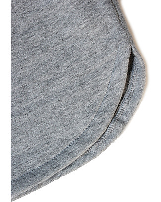 Gray Label Skirt, Grey Melange - 100% organic cotton Italian fleece Skirts