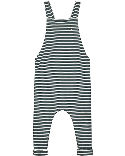 be9bc833 Gray Label Summer Salopette, Blue Grey/White Stripe (18-24 months ...