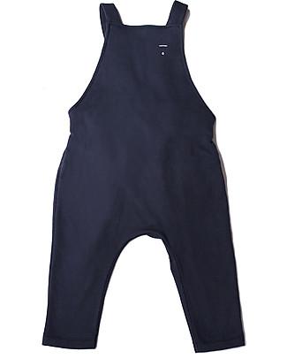 Gray Label Unisex Dungarees, Night Blue - 100% Organic Cotton Dungarees
