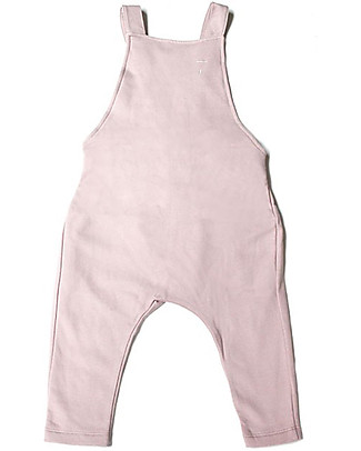 Gray Label Unisex Dungarees, Vintage Pink - 100% Organic Cotton Dungarees
