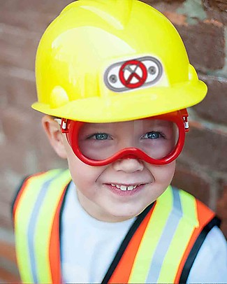 Great Pretenders Construction Worker with Accessories Set - 7 Pieces Dressing Up & Role Play