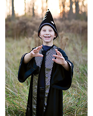 Great Pretenders Deluxe Wizard Set, Black - Includes cape and hat! Dressing Up & Role Play