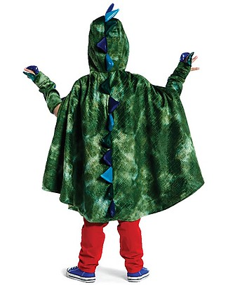Great Pretenders Dragon Costume Set, Green - Includes cape and claws Dressing Up & Role Play
