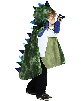 Great Pretenders Dragon Costume Set, Green - Includes cape and claws null