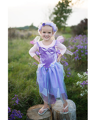 Great Pretenders Forest Fairy Halo, Lilac with Glitter Dressing Up & Role Play