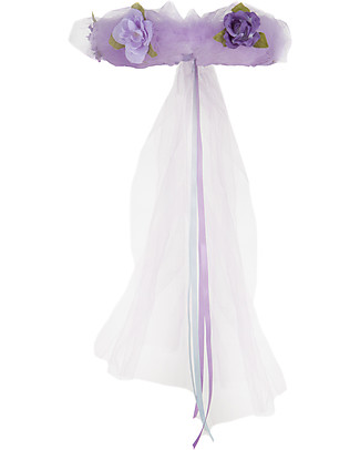 Great Pretenders Forest Fairy Halo, Lilac with Glitter null