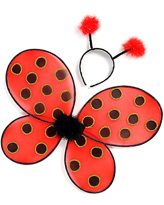 Great Pretenders Ladybug Set - Includes wings and headband null