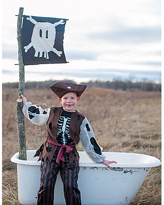 Great Pretenders Pirate Costume Set - Includes pants, vest and hat null