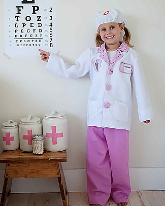 Great Pretenders Red Doctor with Accessories Set - 8 Pieces Dressing Up & Role Play