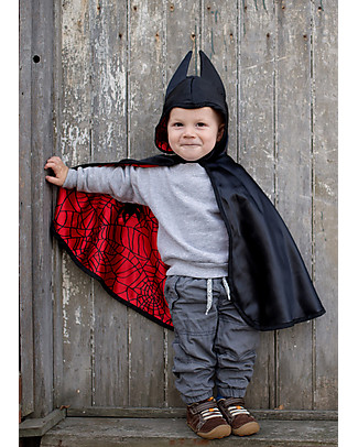 Great Pretenders Reversible Baby Spider/Bat Cape - Double fun! null