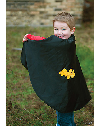 Great Pretenders Reversible Spider/Bat Cape with Mask - 2 in 1 costumes! null