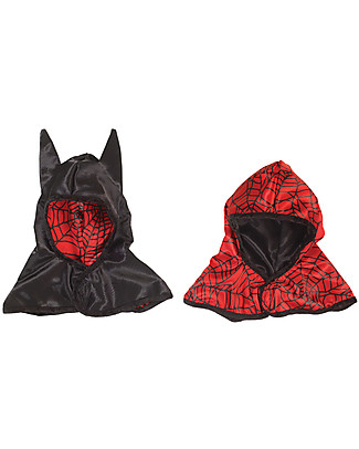 Great Pretenders Reversible Spider/Bat Hood - Double fun! null