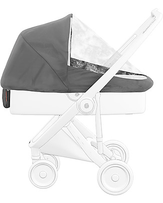 Greentom Greentom Classic Rain Cover - for Carrycot/Reversible - 100% Recycled Plastic! Stroller Accessories