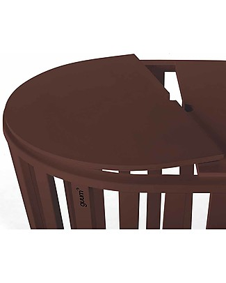 Guum Barcelona Coverguum, Chocolate – Lid to covert Miniguum crib in coffee table or toy box Tables And Chairs