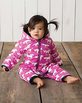 Hatley Baby's Winter Puffer All-in-one Fairy Tale Horses (the perfect winter pramsuit!) Snowsuits